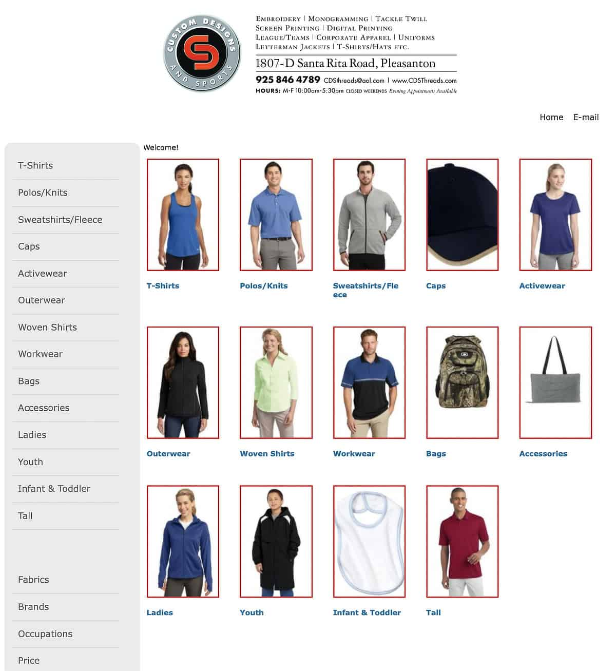 Company Casuals CDS catalog link