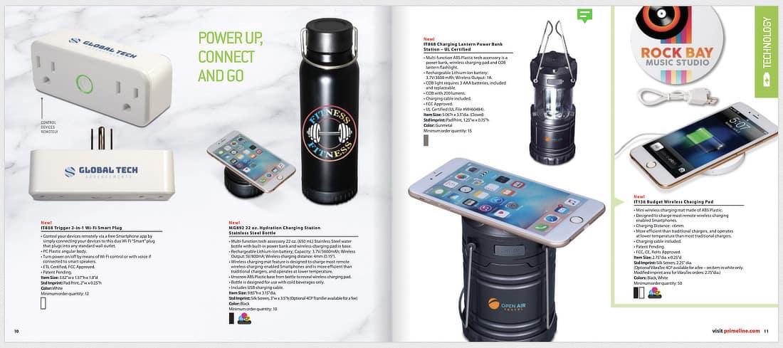 PrimeLine catalog screenshot