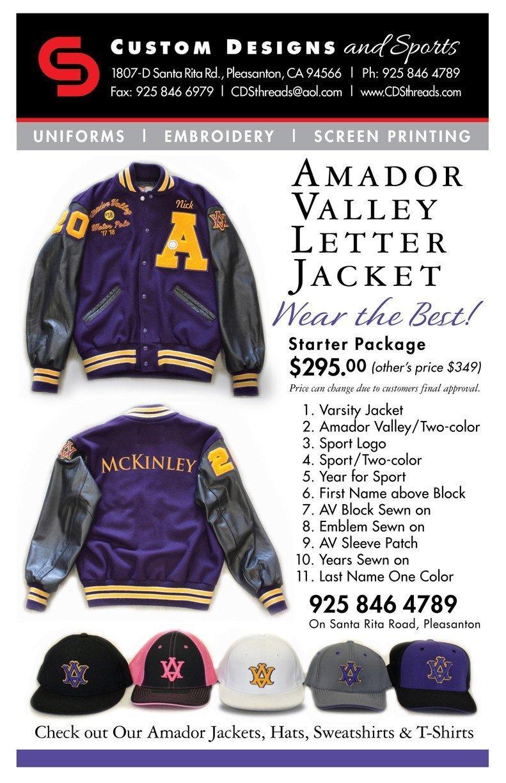 CDS Amador Valley jacket flyer